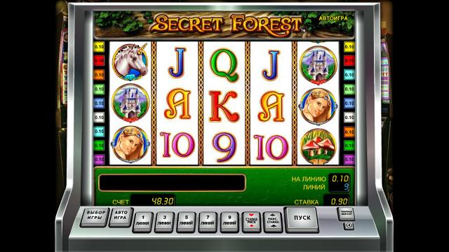 Бонусная игра Secret Forest 9