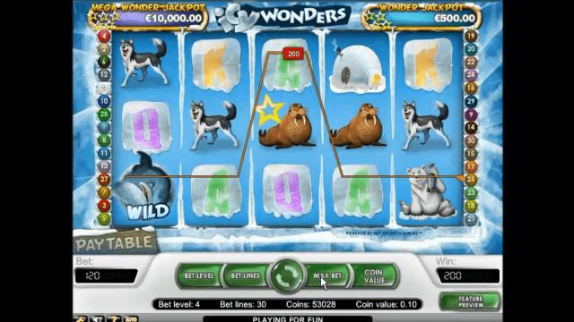 Игровой интерфейс Icy Wonders 6