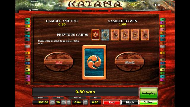 Игровой интерфейс Katana 4