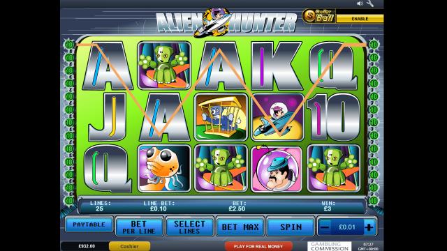Бонусная игра Alien Hunter 10