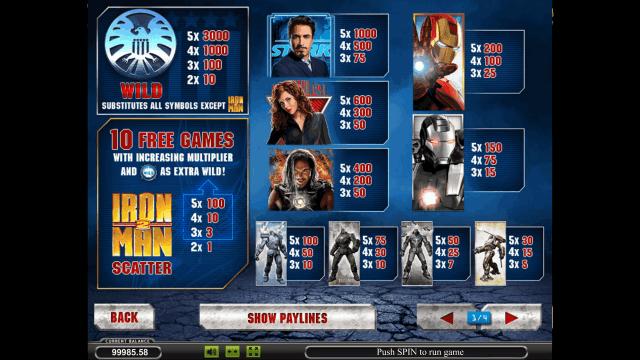 Игровой интерфейс Iron Man 2 8