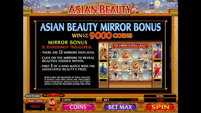 Игровой интерфейс Asian Beauty 5