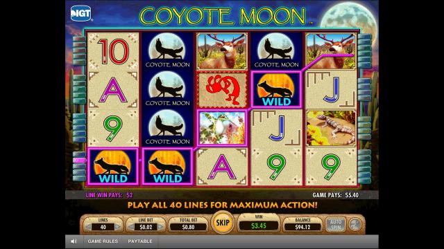 Игровой интерфейс Coyote Moon 3