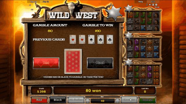 Бонусная игра Wild West 7