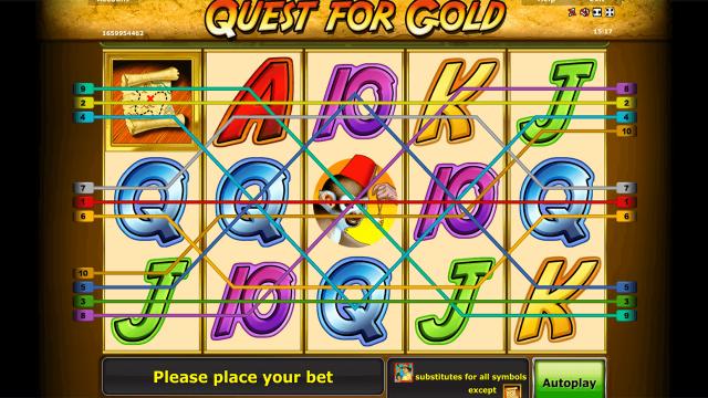 Игровой интерфейс Quest For Gold 3