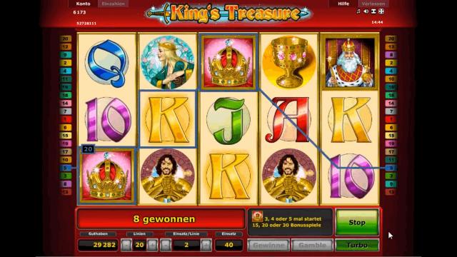 Бонусная игра King's Treasure 7