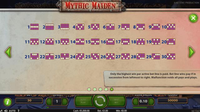 Бонусная игра Mythic Maiden 5