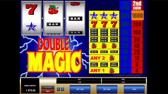Характеристики слота Double Magic 6