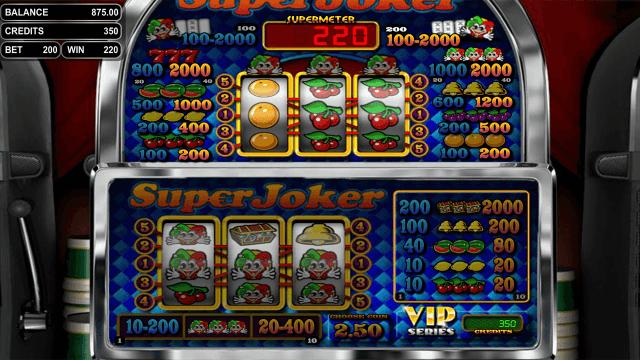 Бонусная игра Super Joker VIP 5