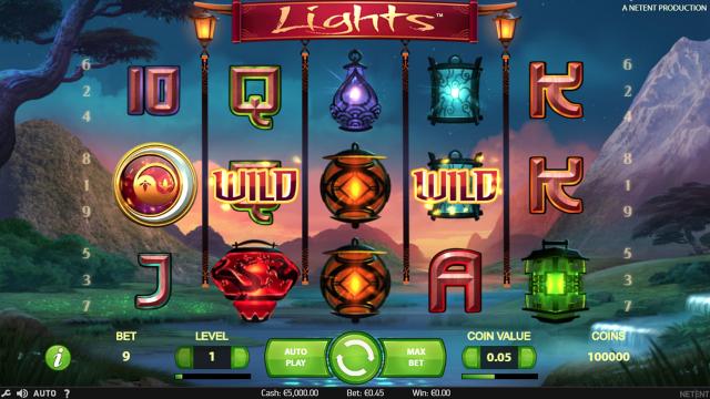 Бонусная игра Lights 6