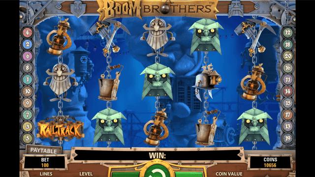 Игровой интерфейс Boom Brothers 10