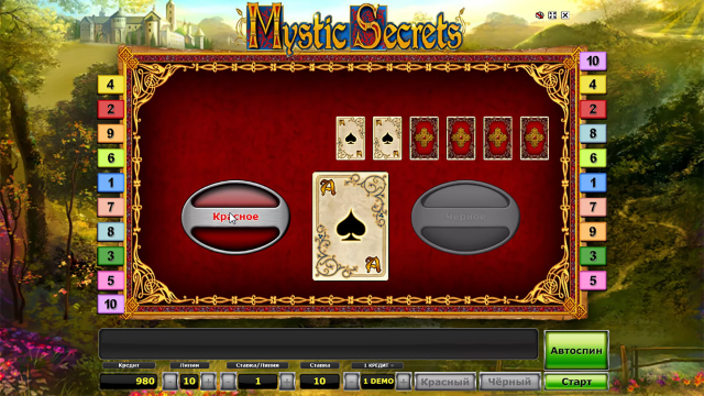 Бонусная игра Mystic Secrets 1