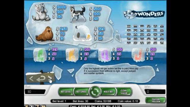 Бонусная игра Icy Wonders 3