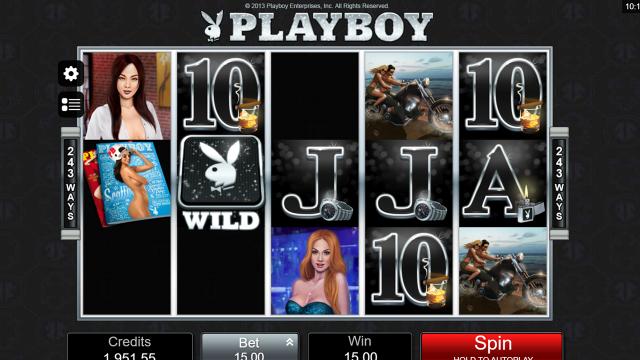 Характеристики слота Playboy 19