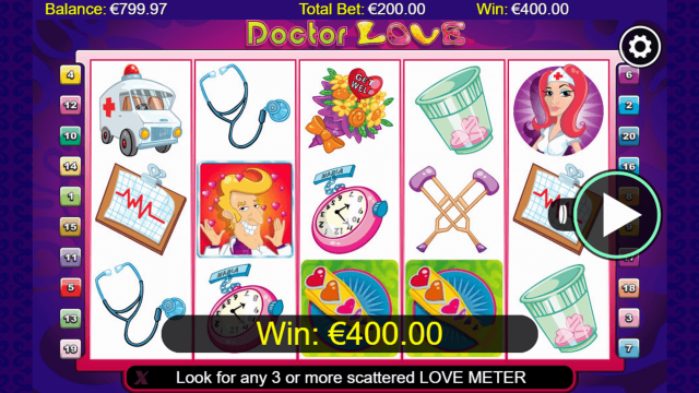 Бонусная игра Doctor Love 7