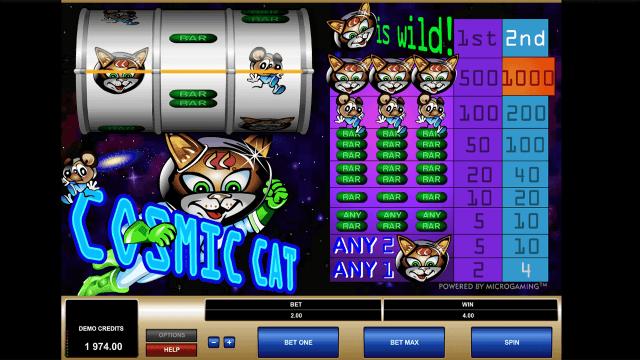 Игровой интерфейс Cosmic Cat 10