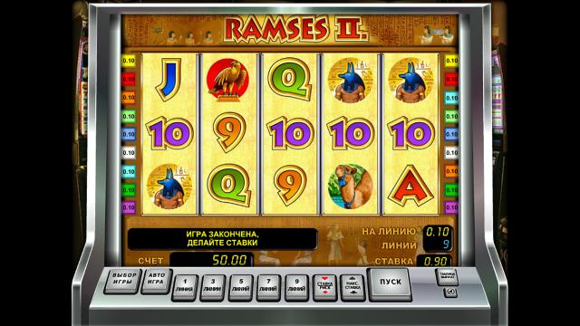 Характеристики слота Ramses II 2