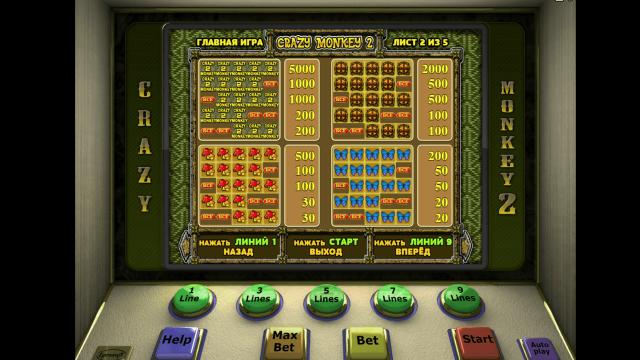 Игровой интерфейс Crazy Monkey 2 2