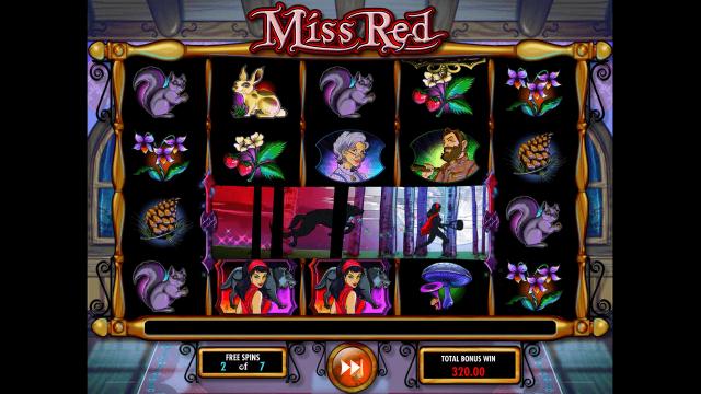 Характеристики слота Miss Red 7