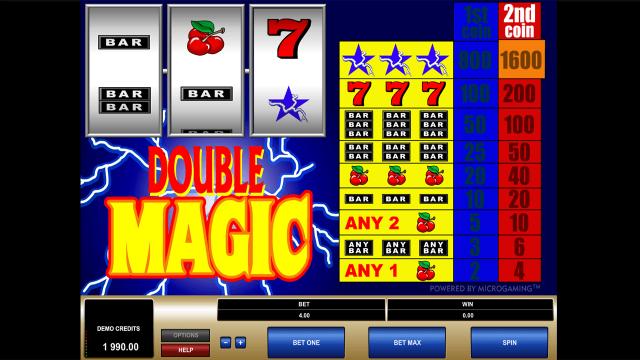 Бонусная игра Double Magic 4