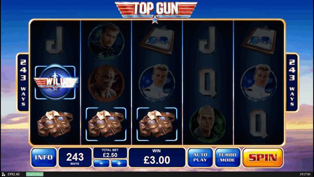 Игровой интерфейс Top Gun 4