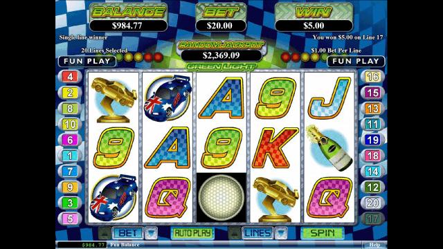 Бонусная игра Green Light 6