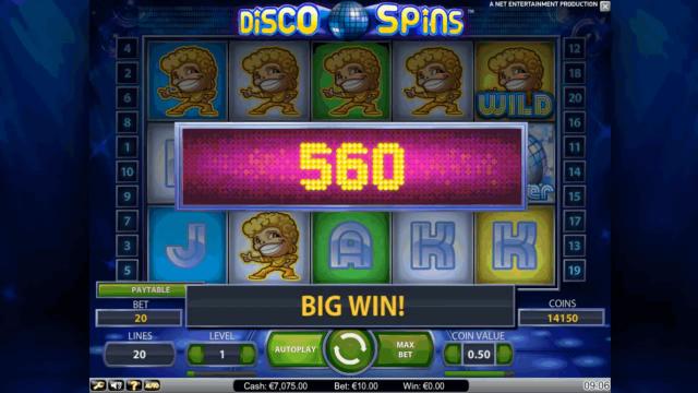 Характеристики слота Disco Spins 5