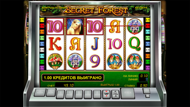 Игровой интерфейс Secret Forest 6