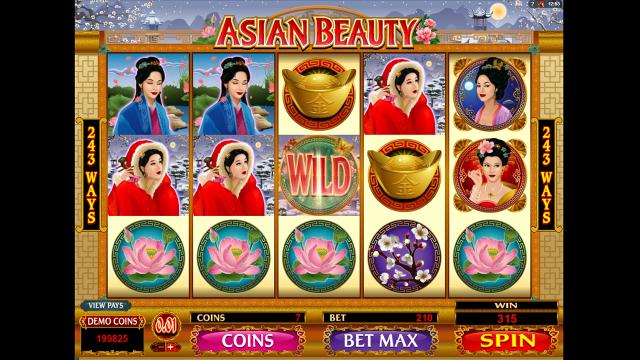 Бонусная игра Asian Beauty 10