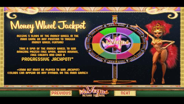 Бонусная игра Mr. Vegas 4