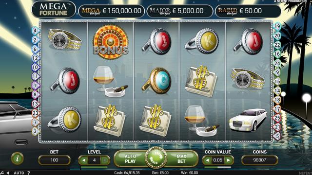 Бонусная игра Mega Fortune 4