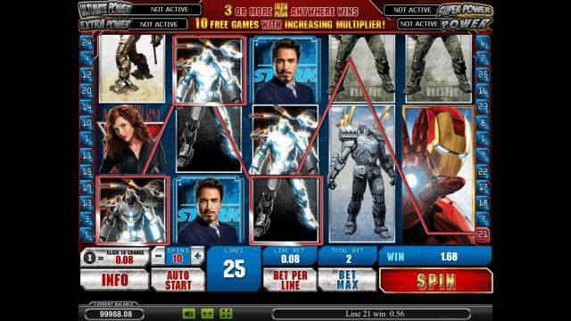 Бонусная игра Iron Man 2 7
