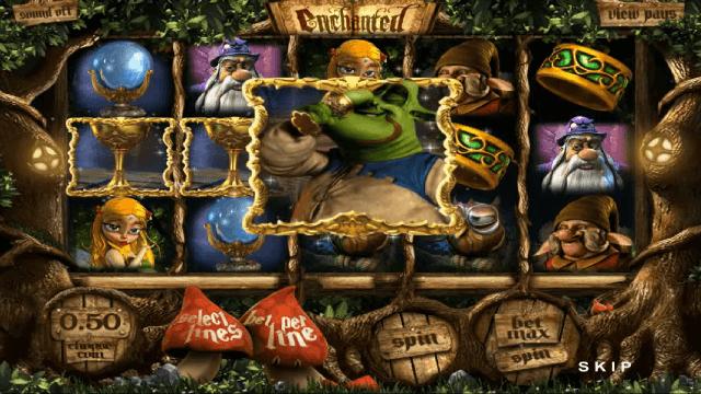 Характеристики слота Enchanted 2