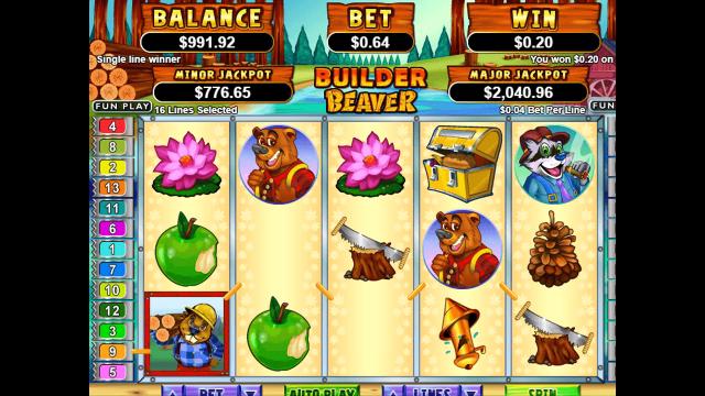 Бонусная игра Builder Beaver 7