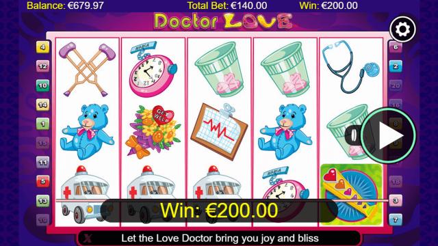Бонусная игра Doctor Love 9