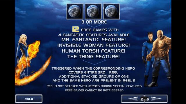 Игровой интерфейс Fantastic Four 3