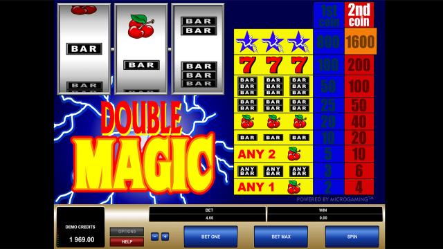 Бонусная игра Double Magic 10
