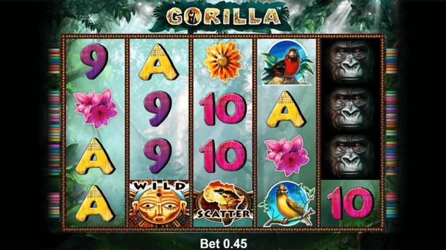 Бонусная игра Gorilla 8