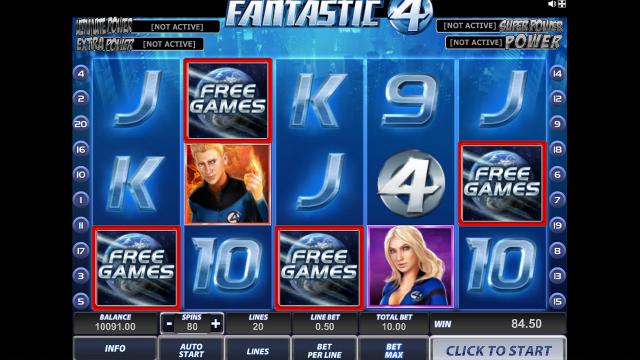 Игровой интерфейс Fantastic Four 15