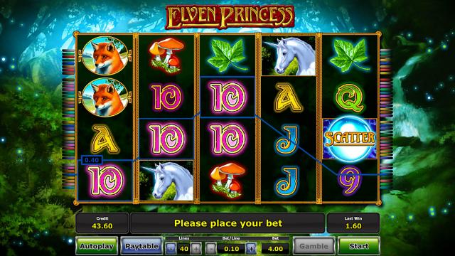 Игровой интерфейс Elven Princess 7