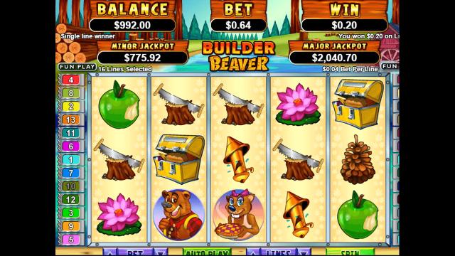 Игровой интерфейс Builder Beaver 5