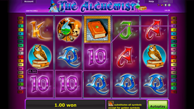 Бонусная игра The Alchemist 7