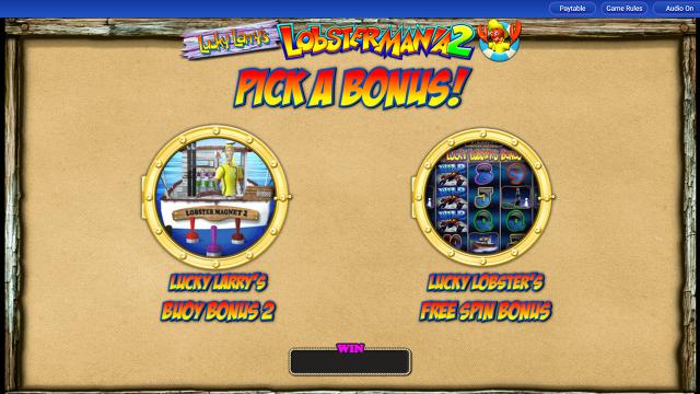 Игровой интерфейс Lucky Larry's Lobstermania 2 15