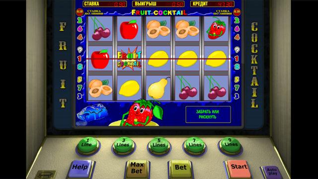 Бонусная игра Fruit Cocktail 8