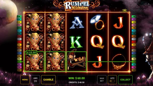 Бонусная игра Rumpel Wildspins 8