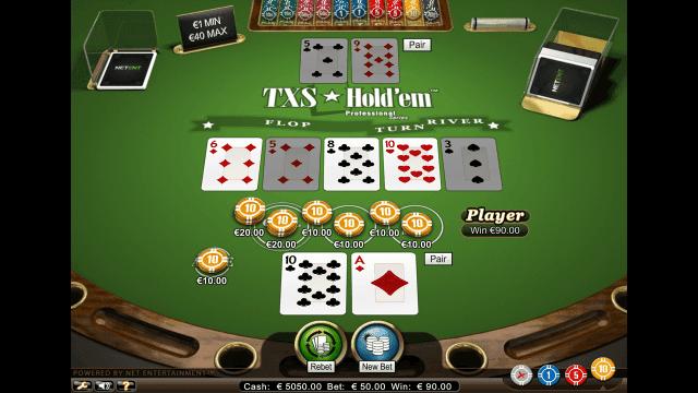 Игровой интерфейс TXS Hold'em Pro Series 8