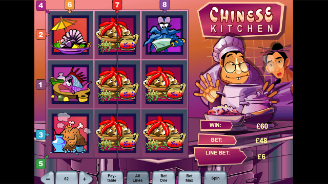 Игровой интерфейс Chinese Kitchen 5