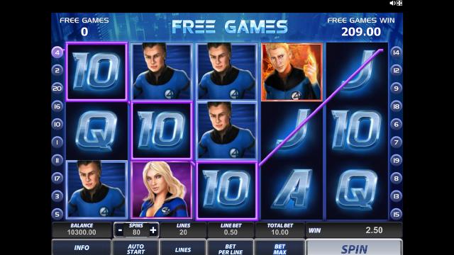 Игровой интерфейс Fantastic Four 18