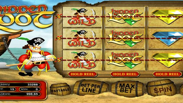 Бонусная игра Hidden Loot 9