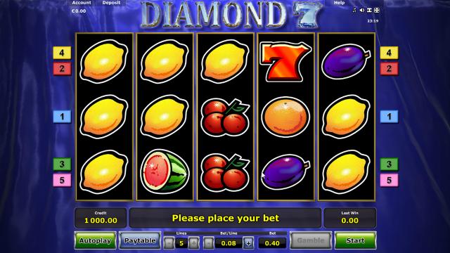 Характеристики слота Diamond 7 1